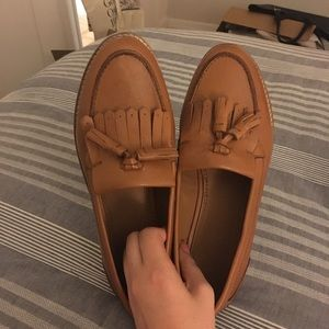 NWOT ASOS BROWN LOAFERS